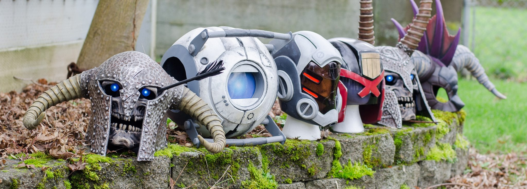 Mask Amp Helmet Cosplay Builds Punished Props