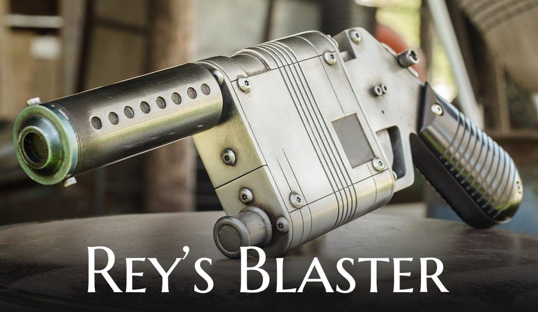 Rey's Blaster