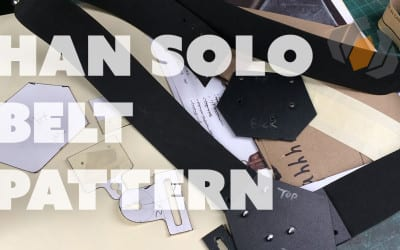 Prop: Live from the Shop – Patterning Han Solo's Belt Holster