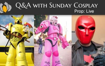 Prop: Live – Q&A with Sunday Cosplay – 3/3/2016