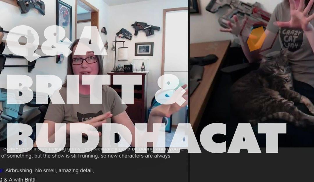 Prop: Live – Q&A with Britt and Buddhacat – 4/14/2016