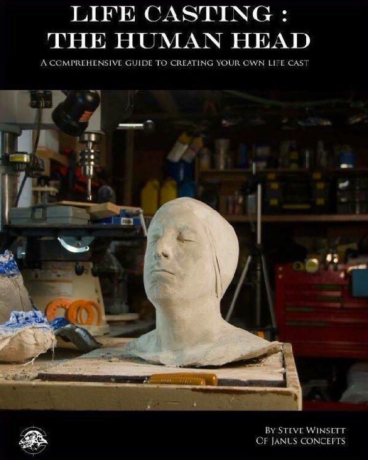 Life Casting: the Human Head - By Steve Winsett - eBook