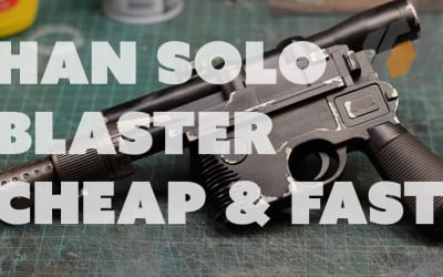 Prop: Shop – Han Solo DL-44 Blaster Prop, Quick & Cheap