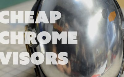 Prop: Shop – Chrome Helmet Visors and Patterns with Evil Ted