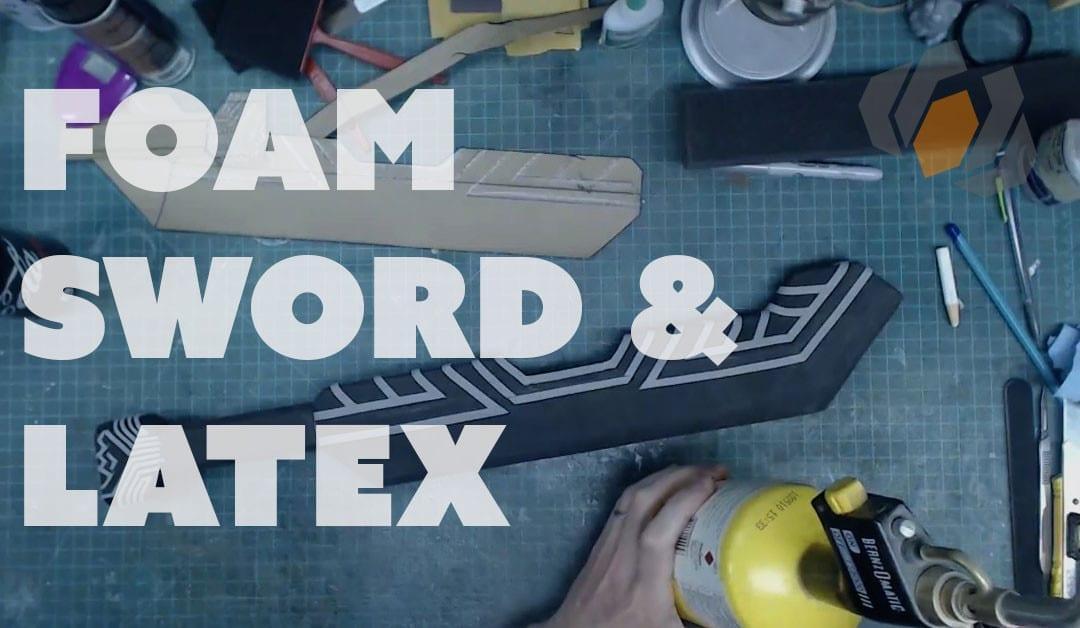 Prop: Live From The Shop – Dwarven Sword Foam Details & Latex