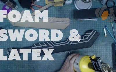 Prop: Live From The Shop – Dwarven Sword Foam Details & Latex