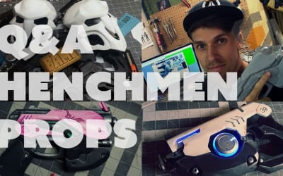 Prop: Live – Q&A with Henchmen Props – 5/26/2016
