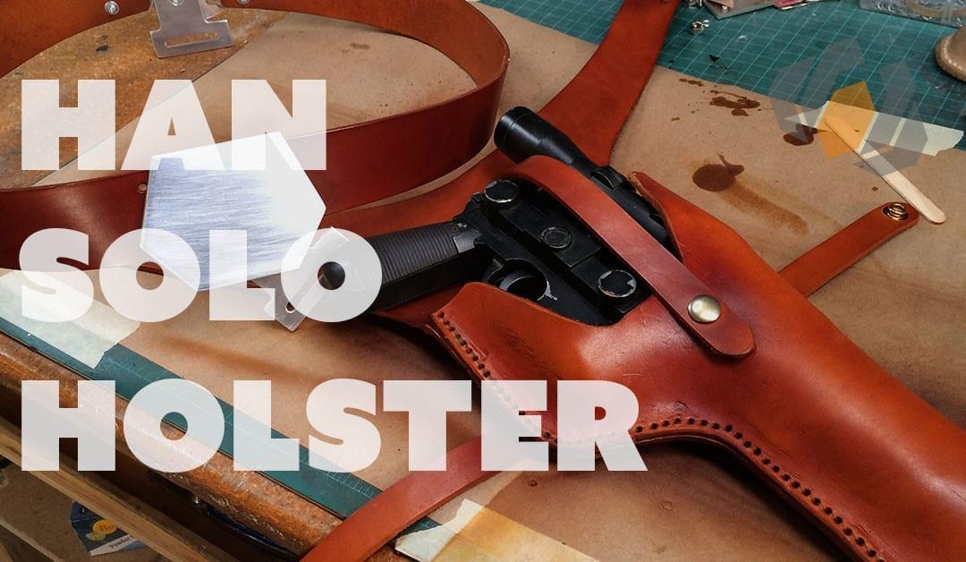 Prop: Shop – Han Solo Belt Holster Build