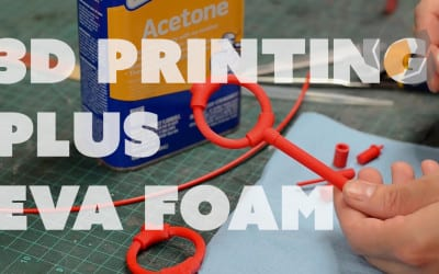 Prop: Shop – Combining Foamsmithing with 3D Printing for my Mechanist Helmet