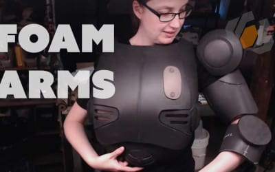 Prop: Live – Fallout 4 Assaultron Costume – Upper Arms