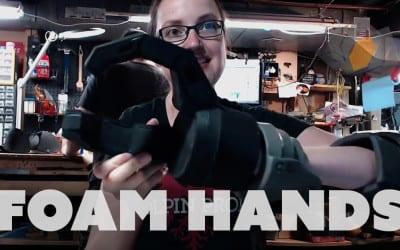 Prop: Live – Fallout 4 Assaultron Costume – Hands