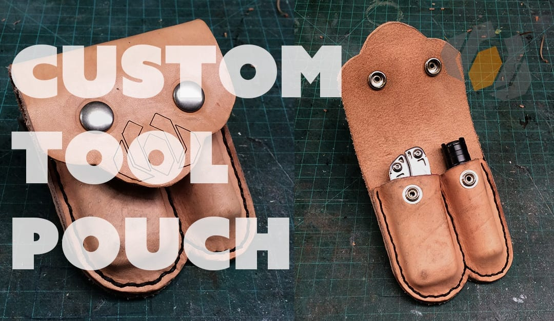 Prop: Live from the Shop – Making a Custom Leather Tool Pouch