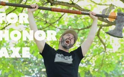 Prop: Shop – Forging the For Honor Viking Axe