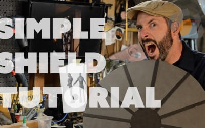 Prop: Shop – Simple Shield Form Tutorial & Template