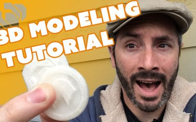 3D Modeling & Printing with 123D Design – Prop: Live from the Shop