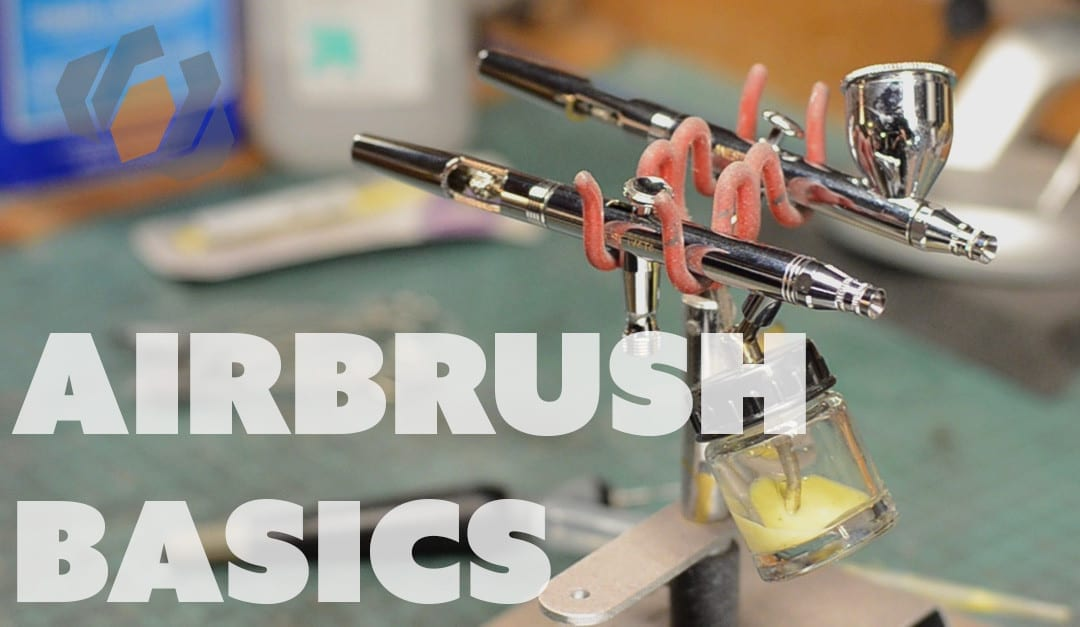 Airbrush Basics: Picking an Airbrush, Compressors, & Cleaning – Prop: Shop
