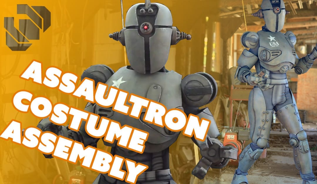 Fallout 4 Assaultron Costume Assembly – Prop: Shop