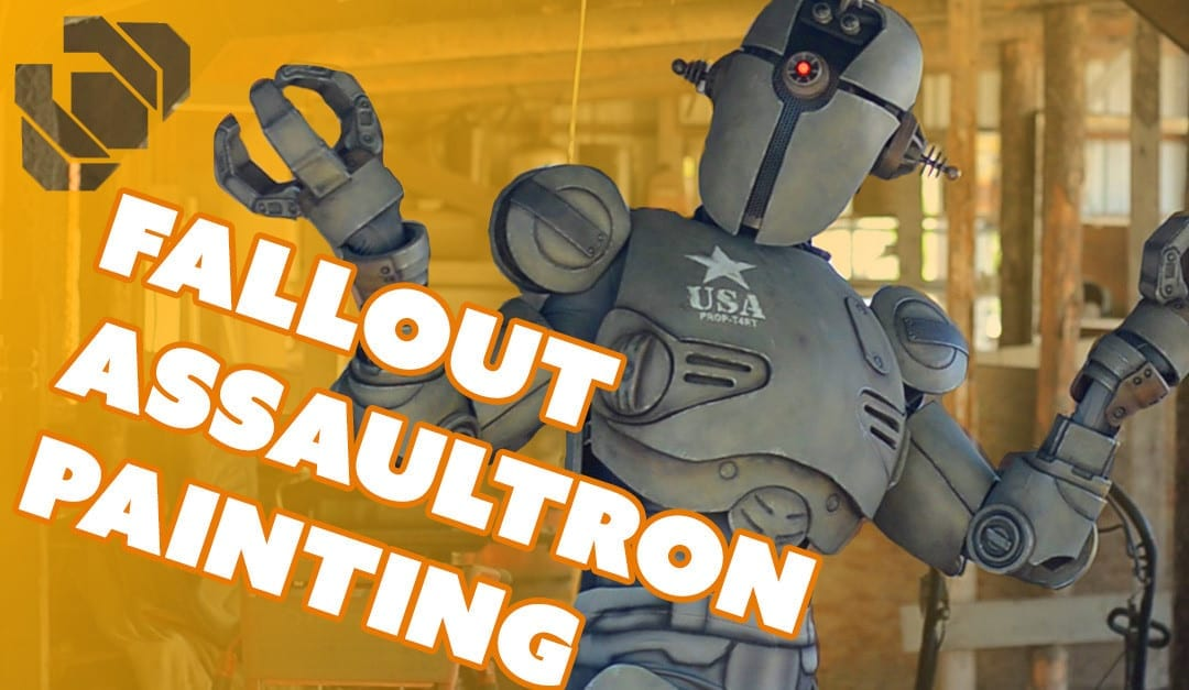 Painting the Assaultron Armor and Bodysuit – Prop: Shop