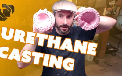 Casting Urethane Resin Prop Pieces – Prop: Live from the Shop