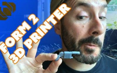 Form 2 Desktop SLA 3D Printer for Prop & Costume Making – Prop: 3D