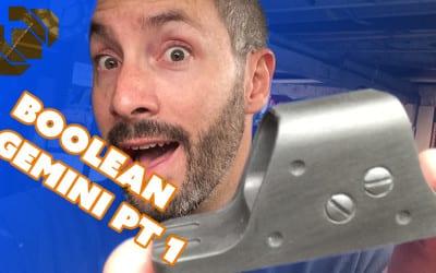 How to 3D Print a Gun Prop from Destiny Part 1: Boolean Gemini Scope
