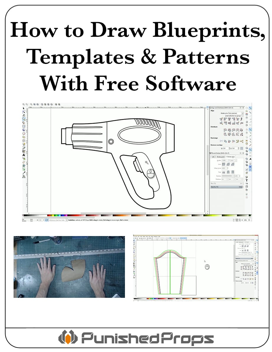 How To Draw Patterns Templates Blueprints With Free