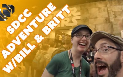 Comic Con Adventures – Costumes, Props, & Toys with Bill & Britt