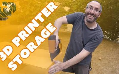 How to Make a 3D Printer & Filament Storage Box – Prop: Shop