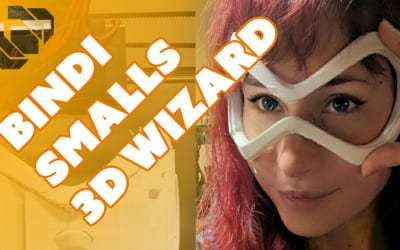 3D Printing Overwatch Costumes with Bindi Smalls – Prop: 3D