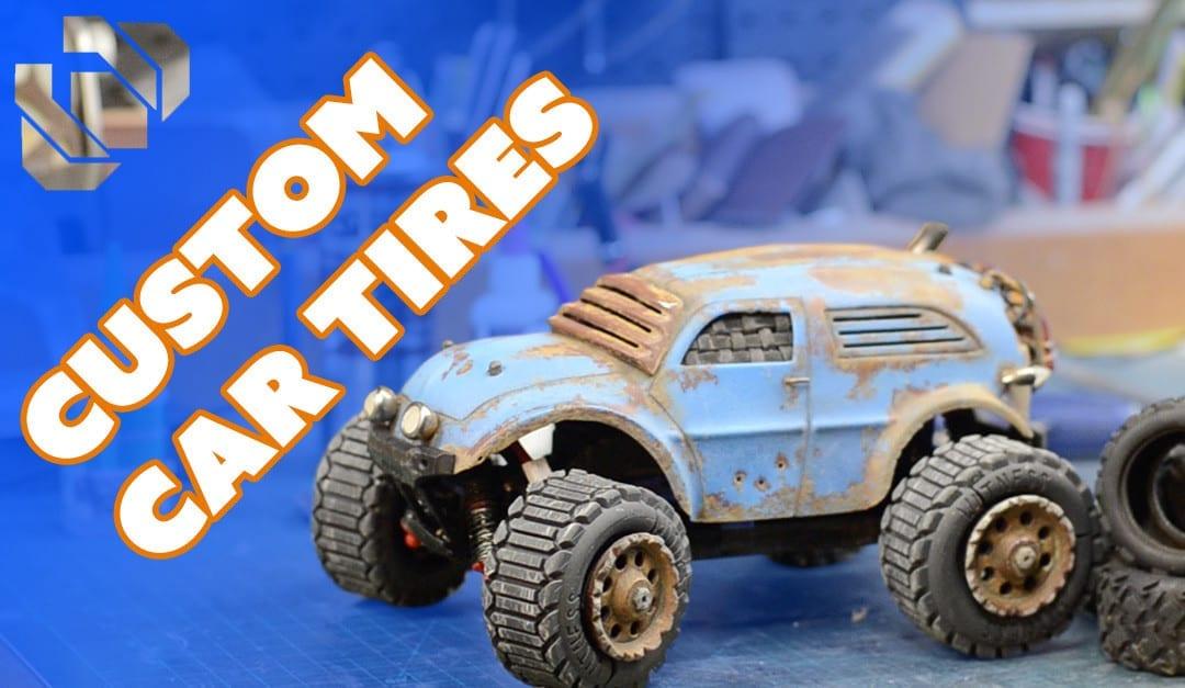3D Printing Custom Tires for my R/C Car – Prop: 3D