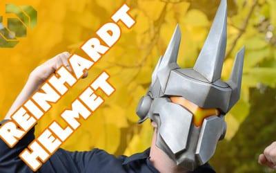 Making the Reinhardt Helmet from Overwatch with Barnacules – Prop: 3D