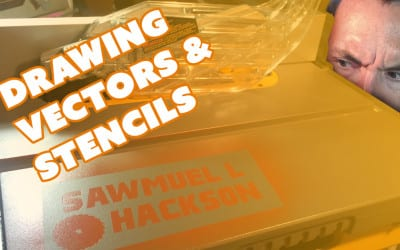 How to Draw Vectors for Vinyl Cutting & Stencils – Prop: Live from the Shop