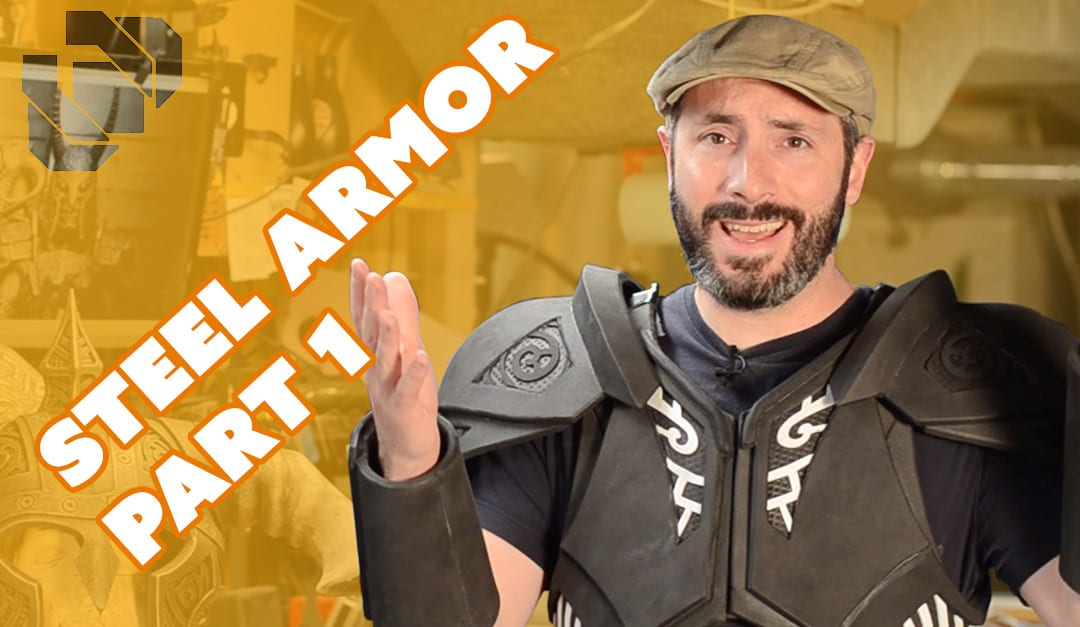 How To Make The Skyrim Steel Armor Costume Part 1