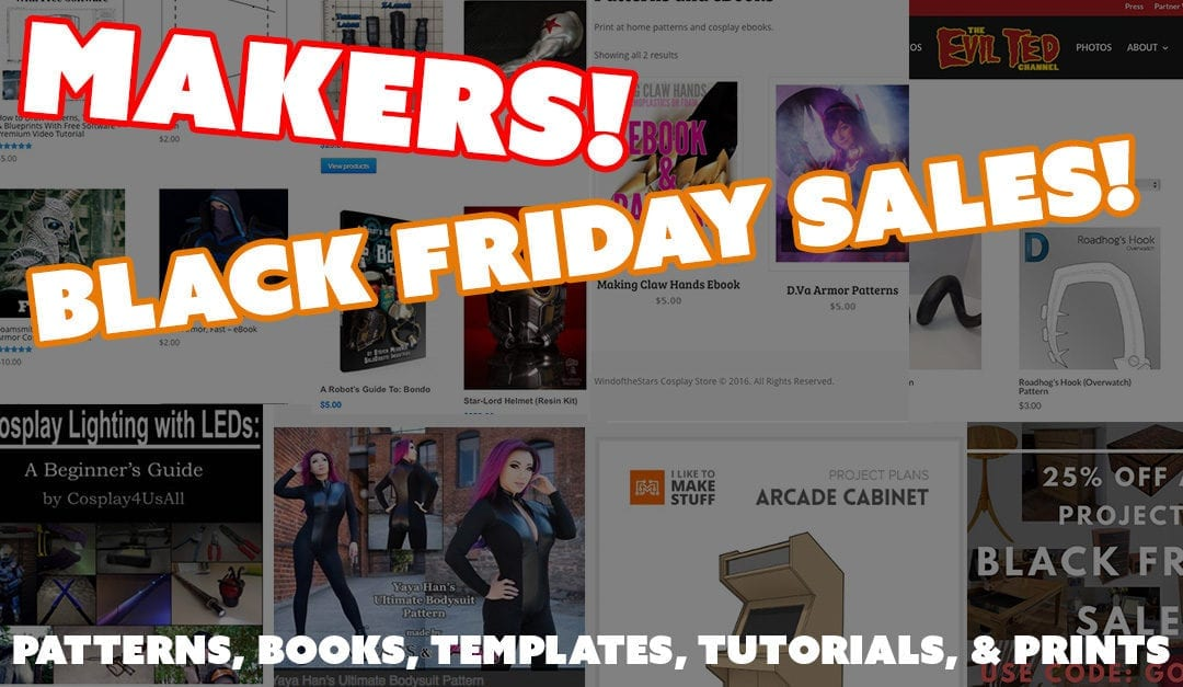 Black Friday Sales 2016: Maker Edition