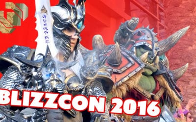 BlizzCon 2016 with Punished Props and Cosplay Friends!
