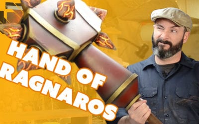 How to Make Sulfuras, the Hand of Ragnaros Prop – Prop: Shop