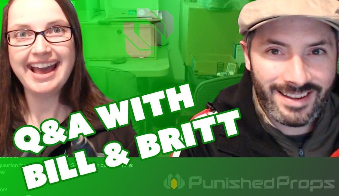 Prop: Live – Q&A with Bill & Britt – 12/15/2016