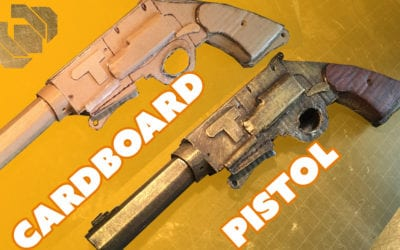 Cardboard Pistol Challenge – Prop: Live from the Shop