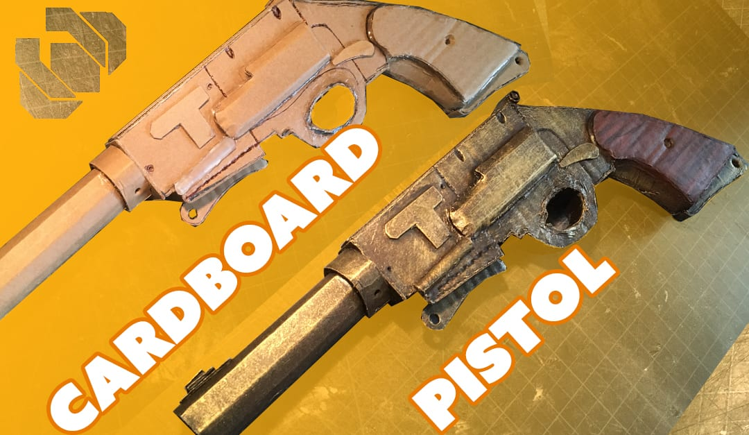 cardboard pistol challenge