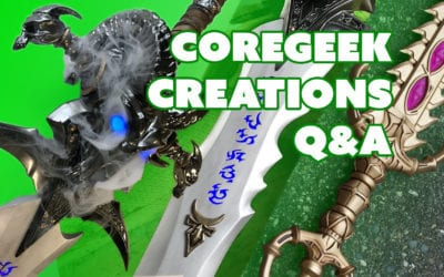 Prop: Live – Q&A with Coregeek Creations – 12/1/2016