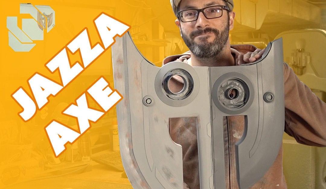 Building the Jazza Axe Prop Part 1 – Prop: Shop