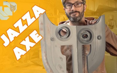 Building the Jazza Axe Prop Part 1 – Prop: Shop