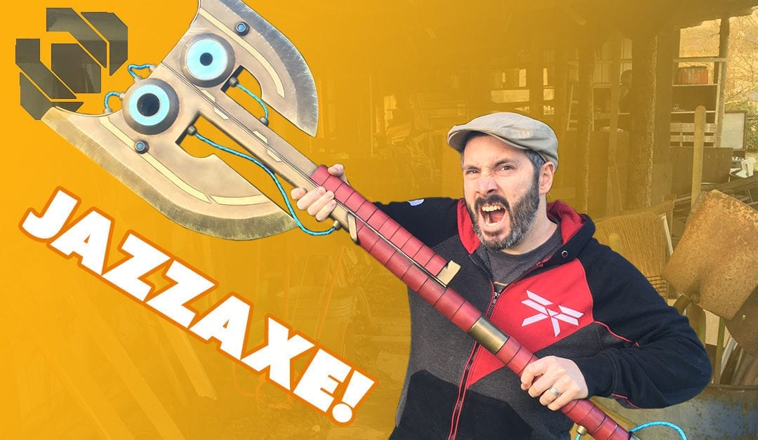 Building the Jazza Axe Prop Part 2 – Prop: Shop