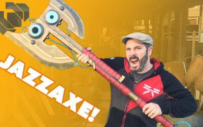 Building the Jazza Axe Prop Part 2 – Prop: Shop