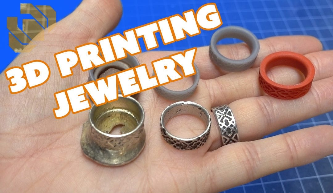3D Printing and Metal Casting Jewelry with the Form 2 – Prop: 3D