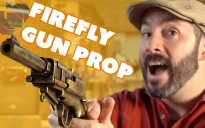 How to Make Malcolm Reynolds' Pistol from Firefly plus Free Templates – Happy 100k!