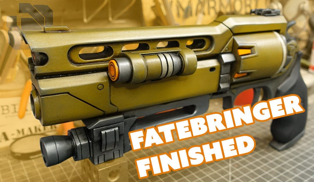 Building the ZProps Fatebringer Kit Part 3: Painting – Prop: Live from the Shop