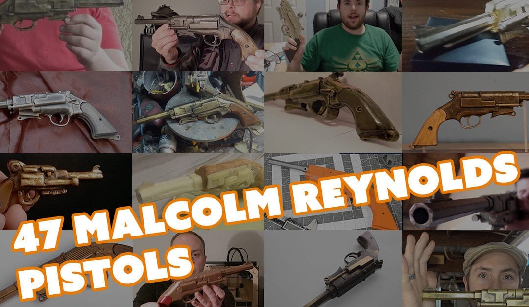 Fan Submitted Malcolm Reynolds Pistol Props – Thanks for 100k!