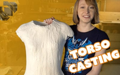 How to Make a Plaster Torso Life Cast – Prop: Shop