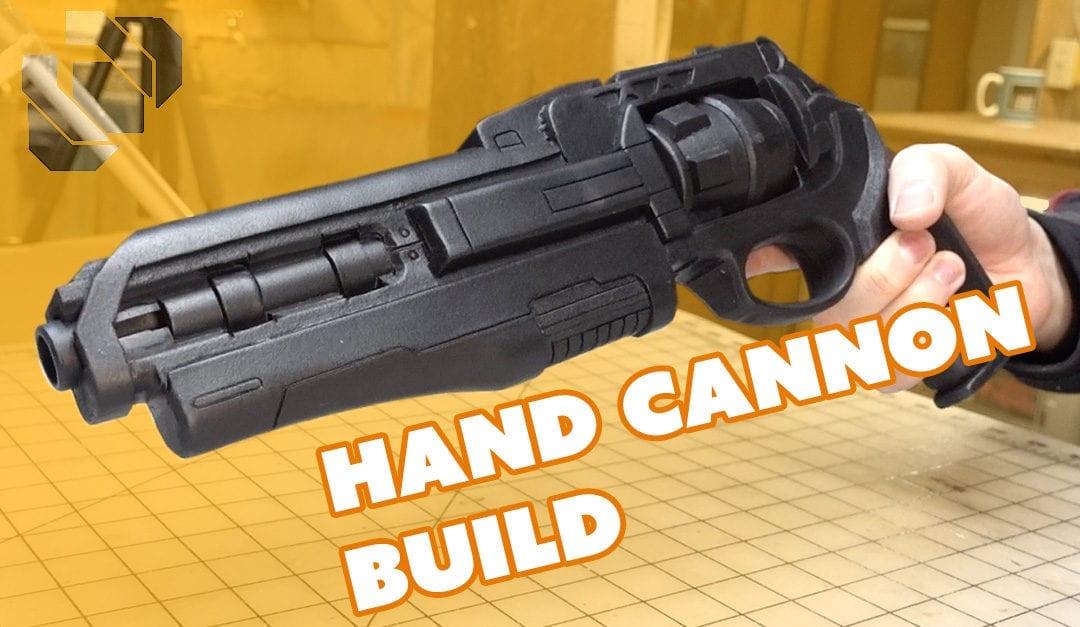 Destiny Hand Cannon Prop Build Andrew DFT Collaboration Part 1: Fabrication